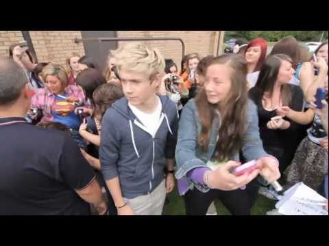 One Direction Meeting the fans!