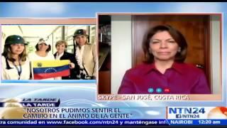 """Suscríbase a nuestro canal en YouTube: http://tinyurl.com/NTN24VENEZUELALa expresidenta de Costa Rica Laura Chinchica, quien participó como observadora en la consulta pública en Venezuela, dijo en el programa La Tarde de NTN24 que """"me da escalofrío recordar los testimonios de las madres de los chicos que han muerto en Venezuela""""También puede seguirnos en nuestras redes sociales:Twitter: https://twitter.com/ntn24veFacebook: https://www.facebook.com/NTN24veInstagram: https://instagram.com/ntn24ve"""