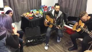 Download Lagu Skillet Acoustic- Back from the dead And Monster Mp3