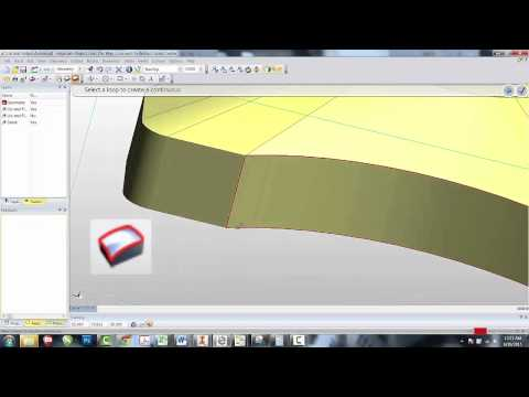 7 Creating a Surface in EdgeCAM (видео)