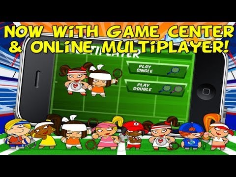 Online/Multiplayer Tennis Game for Android & iPhone / iPad