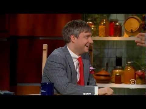 Martin Freeman u Stephena Colberta