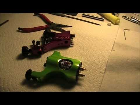 rotary tattoo machine design  review