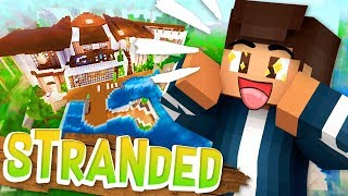 BEACH SIDE MANSION // Minecraft Stranded SMP // Roleplay Ep.2