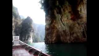 Khao Sok (Suratthani) Thailand  city photo : Ratchaprapa Lake Dam Khao Sok National Park Surat Thani Thailand