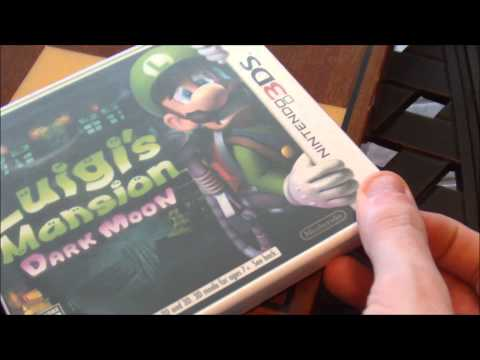 Luigi's Mansion Dark Moon Unboxing