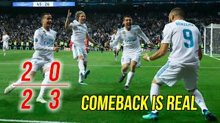 Video 5 Comebacks Dramatis Real Madrid Era Zinedine Zidane 2016-18 MP3, 3GP, MP4, WEBM, AVI, FLV Juli 2018