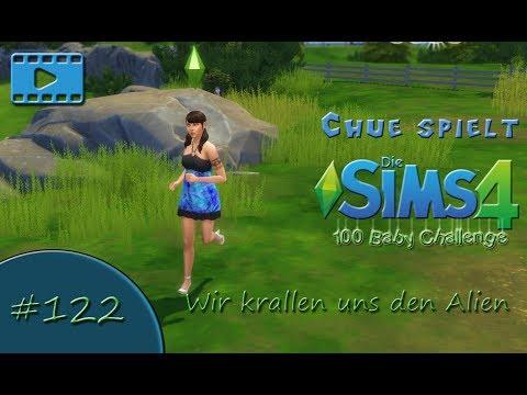 Die Sims 4 - 100 Baby Challenge - Wir krallen uns den Alien #122 [deutsch, lets play] видео