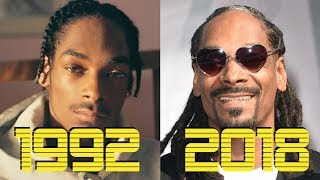 The Evolution of Snoop Dogg (1992 - 2018)