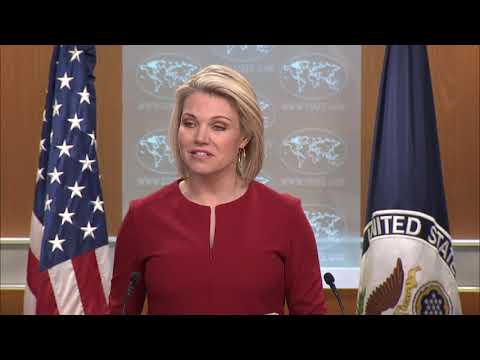 Department Press Briefing - March 8, 2018