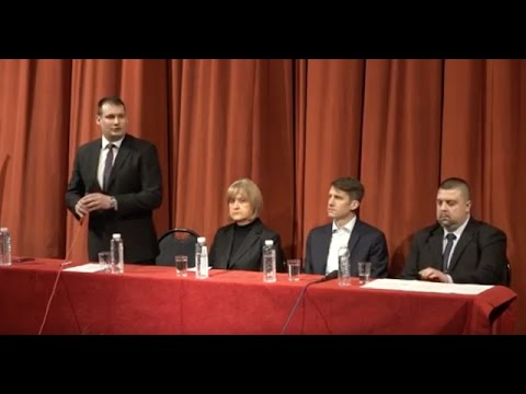Lakossági fórumot tartott a VMSZ Topolyán-cover