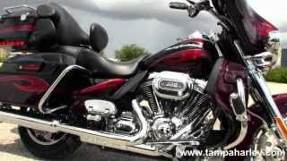6. Used 2013 Harley Davidson CVO Ultra Classic Screamin' Eagle Motorcycle for Sale