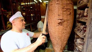 Video KING of İSKENDER KEBAB - 150 Year Old TURKISH Street Food in Bursa!! BEST Street Food in Turkey 2019 MP3, 3GP, MP4, WEBM, AVI, FLV Juni 2019