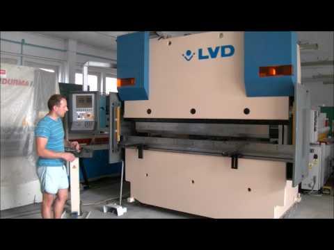 Prasa krawędziowa hydrauliczna CNC LVD PPEB 80/25 CAD 1999-Zdjęcie 2