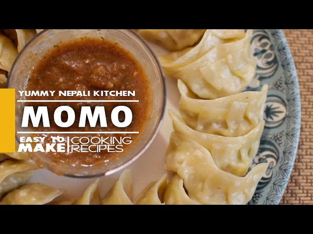 how to make chicken momos at home