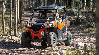 1. 2018 Can-Am Maverick Trail Review- ATVESCAPE