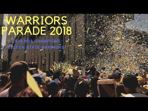 NBA Champion Golden State Warriors Parade | DUB NATION 2018 | Bay Area Golden State Parade Vlog
