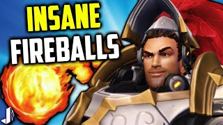 Paladins OB54 has given Fernando the power of near instant fireball reset and it is crazy in game. I cover the power to fireball like a machine gun and if this is the second coming of flanknando. Plus some tips and a deck build to compliment his new power! Paladins OB54 Gameplay. Something I didn't mention by new champion Lian struggles to take down shields and is pretty fun to chase down on the PTS with her likely being insta picked she'll make great BBQ for Fernando! Giving away Steam Demon Androxus, Realm Pack & Summer Chest - https://gleam.io/59532/1x-realm-pack-1x-androxus-steam-only-body-1-x-summer-chestFollow me - https://twitter.com/JoshinoYTSupport Me - https://www.patreon.com/JoshinoCome chat - https://discordapp.com/invite/joshino