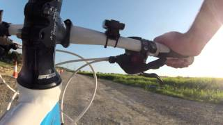 Bicycle ride time lapse