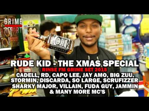 RUDE KID | XMAS SPECIAL 2015 (15 MC GRIME SET) @RudeKidMusic