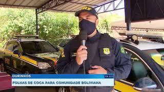 Boliviano é preso com 5kg de folhas seca de cocaína em Marília