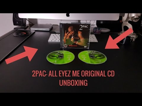 Tupac- All Eyez On Me Original Cd Unboxing: Tupac Cds Unboxing