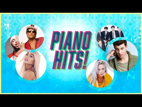 Piano Hits ♫ Pop Songs 2018 : 1 hour of Billboard hits - music for classroom ,study pop instrumental