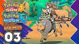 RIDING POKEMON IS WILD!! Pokémon Sun & Pokémon Moon Special Demo Version PART THREE w/ TheKingNapp by King Nappy