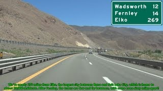 Fernley (NV) United States  City new picture : Interstate 80 East from Sparks to Fernley, Nevada