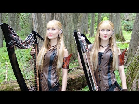 The Dragonborn Comes - Harp Twins, Camille and Kennerly