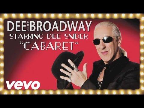 Tekst piosenki Dee Snider - Cabaret po polsku