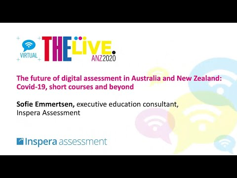 The future of digital assessment in Australia and New Zealand: Covid-19, short courses and beyond