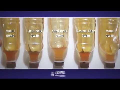 Тест масел 0W40 на морозоустойчивость