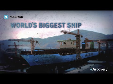 ship - Find out more about the Triple-E series of ships here: www.worldslargestship.com The team at Discovery follows the construction of the world's largest ever c...