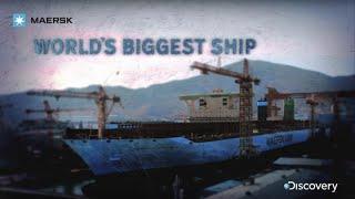 Video Maersk - World's Biggest Ship - Discovery Channel MP3, 3GP, MP4, WEBM, AVI, FLV Juni 2018