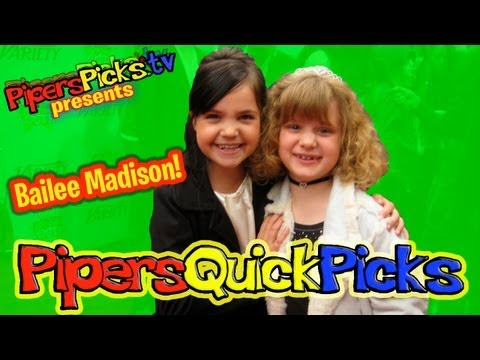 BAILEE MADISON INTERVIEW Power of Youth 2009 w Hollywood's Youngest Reporter Piper Reese! (PQP #001)