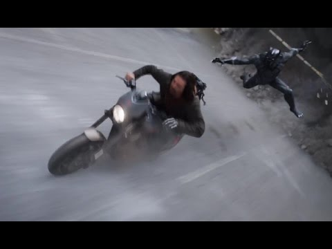 epic chase(hindi) CAPTAIN AMERICA CIVIL WAR #marvel