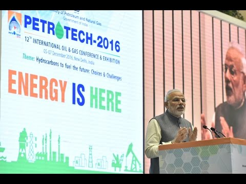 PM's address at the inauguration of PETROTECH – 2016 exhibition