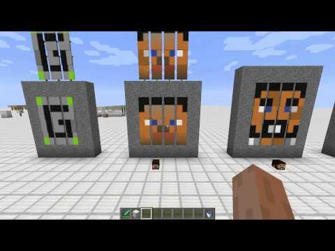 ... онлайн видео Minecraft - Banner Pixel Art (14w30c