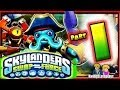 Skylanders Swap Force Wii U - Walkthrough Part 1 Mount Cloudbreak co-op Gameplay!