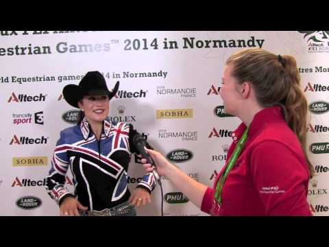 WEG reining: Jessica Sternberg talks to H&H [VIDEO]