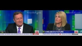 FULL - CHELSEA  HANDLER SLAMS&EMBARRASSES PIERS MORGAN ON HIS OWN CNN SHOW - BITCH VS FOREIGNER