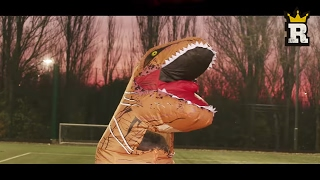 Jurassic Park is real, well the musical version at least! There's a T-Rex loose in the park and it's up to Rule'm Sports to take him down.I WILL HAVE MY REVENGE - http://bit.ly/2iOGaoXSubscribe http://bit.ly/RULEMSportsSubscribe to Jemel One Five - https://www.youtube.com/user/JemelOneFiveSubscribe to Charlie Morley - https://www.youtube.com/channel/UCispvoHvINRUT3g8EgPWguAKeep up with RULE'M Like us http://bit.ly/rulemFBFollow us http://bit.ly/RULEMtweets+1 us http://bit.ly/RULEMplusInstagram: http://bit.ly/RULEMgramsWARNING: The following video features stunts performed either by professionals or under the supervision of professionals and was filmed in a safe, controlled environment. Accordingly, you must not attempt to re-create or re-enact any stunt or activity performed on this video. Endemol and its producers are not responsible for any injuries you sustain as a result of trying any such stunt or activity.