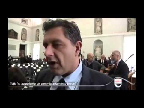 GIOVANNI TOTI SPERA CHE IL COMMISSARIO DELL' AUTORITA' PORTUALE DURI POCO TEMPO