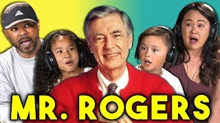 PARENTS/KIDS REACT TO MR. ROGERS (Won't You Be My Neighbor? Trailer)