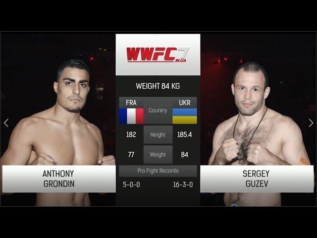 WWFC7 Anthony Grondin vs Sergey Guzev Weight 84