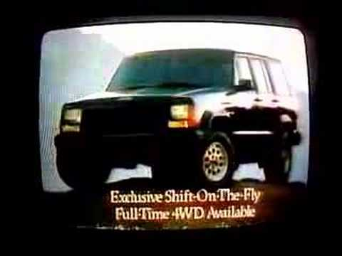 Screenshot of 1990 Jeep Cherokee Commercial