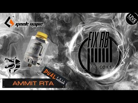 Доброе утро №110+1 |☕ кофе и Ammit Dual Coil RTA by GeekVape | LIVE 07.04.17| 10:20 MCK