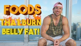 """Foods To Eat To Lose Lower Belly Fat! - These are the top 13 Protein Sources, Top 10 Carb Sources, and Top 10 Fat Sources on A Fat Loss Diet!How to Lose the MAXIMUM Amount of BELLY FAT in 1 WEEK!  3 SCIENTIFIC Steps = No More BELLY PUDGE!https://youtu.be/yopR4oPY0Pk►ALPHA LION PRODUCTS: I Take The Master Shredder Stack Daily + Follow The Science Of Abs Training Principles Year-Round!► MASTER SHREDDER 24 Hour Fat Loss Stack ► http://www.AlphaLion.com/Master-Shredder► Science Of Abs 8 Week Fat Loss Program ►http://www.AlphaLion.com/Science-Of-Abs❌ DISCOUNT CODE - """"SHREDDED"""" for 25% Off► SOCIAL MEDIA ACCOUNTS Instagram - TroyShredSnapchat - TroyspiczTop 13 Protein Sources for Fat LossTop 10 carb sources for fat LossTop 10 Fat Sources for Fat LossEat these foods and burn that stubborn belly fat effortlessly!These are the top foods in every category that will help you lose that stubborn body fat! This is the TRUTH on what you really need to eat to lose belly fat fastTop Foods to Eat to Lose Lower Belly Fat?  SuperHuman Diet For Fat Loss!https://youtu.be/RUsxYuuX5iI"""