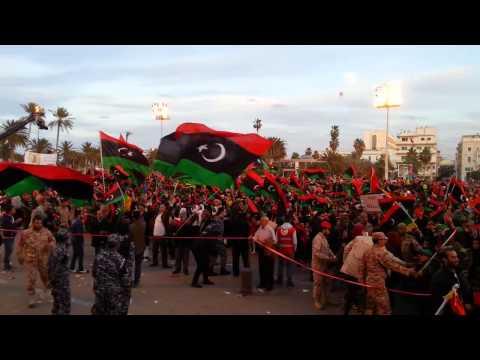احتفالات العاصمة طرابلس بذكر ثورة 17 فبراير